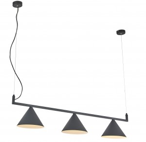 Corp de iluminat pe fir CONE THREE PENDANT LIGHT